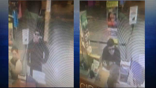 Surveillance photos of the suspect (Courtesy: Beaverton Police Department)