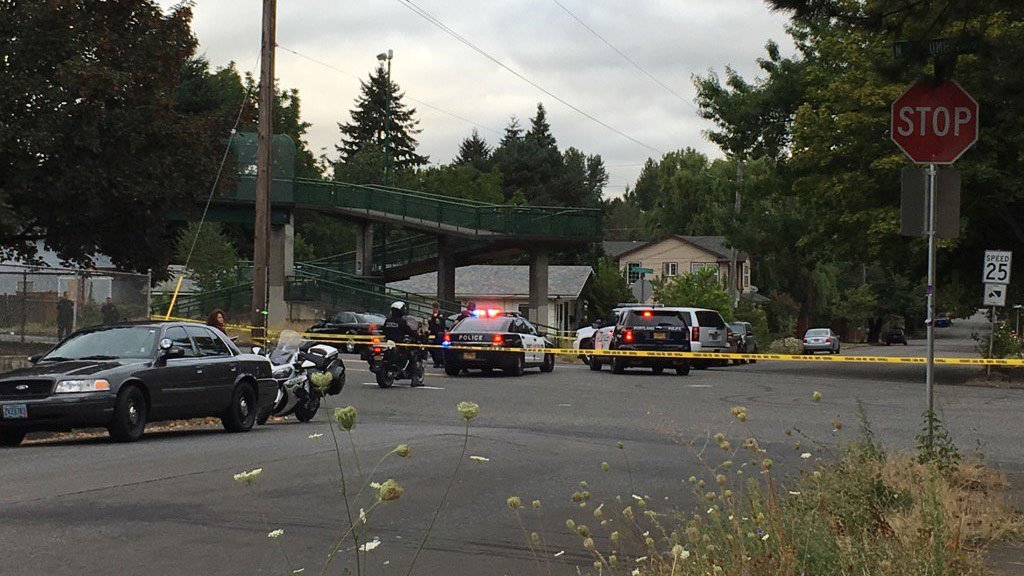 Portland officers said the Traffic Division's Major Crash Team has been called in to investigate crash at North Columbia Boulevard and Midway Street Tuesday morning that severely injured a teen. (KPTV)