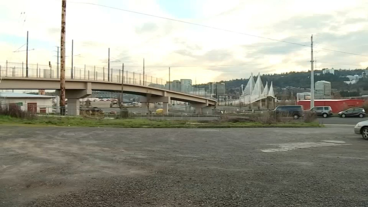 Proposed location in SE Portland for Right 2 Dream Too homeless camp. (KPTV file image)