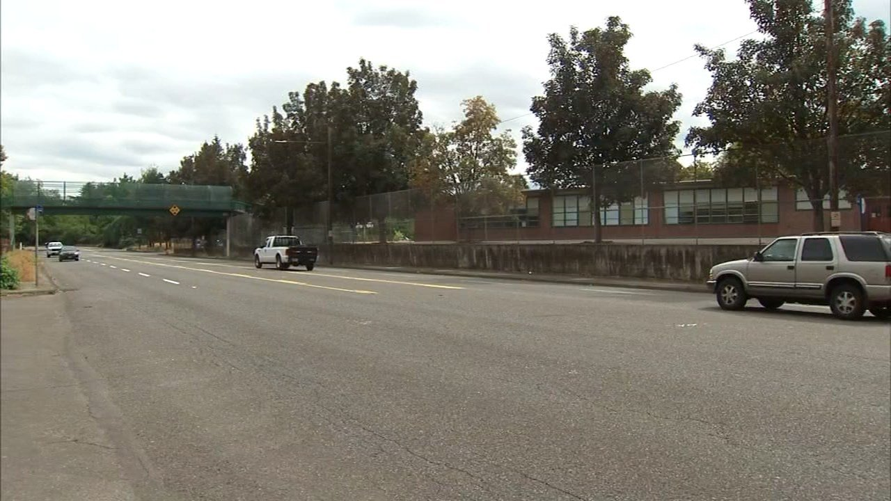 Intersection where 15-year-old Bradley Fortner was hit. (KPTV)