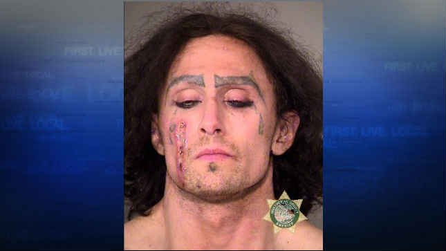 Man arrested in Portland after damaging vehicles, licking man on the face