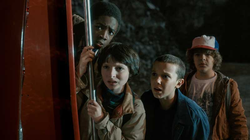 "Evocative of cineplex hits of the 1980s, the eight-episode original Netflix series ""Stranger Things"" may be this summer's best popcorn entertainment. (Photo: Netflix via CNN)"