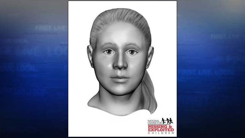 Jane Annie Doe (Facial reconstruction image from the National Center for Missing & Exploited Children)