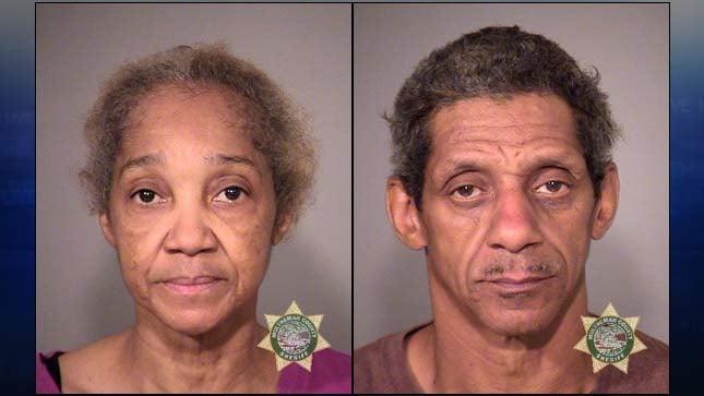 Ella Gill, Darnell Gill, jail booking photo
