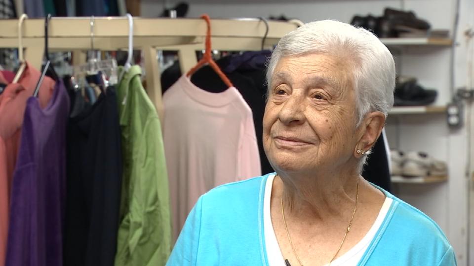 Anna Jones, 92-year-old volunteer for Clackamas Service Center