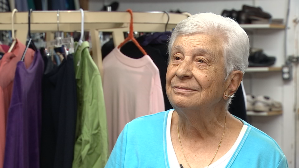 Anna Jones, 92-year-old volunteer for Clackamas Service Center