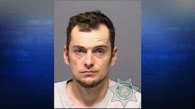Clifton Chambers, jail booking photo (Courtesy: West Linn Police Department)