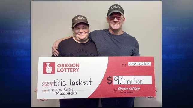 Beth and Eric Tackett (Photo: Oregon Lottery)