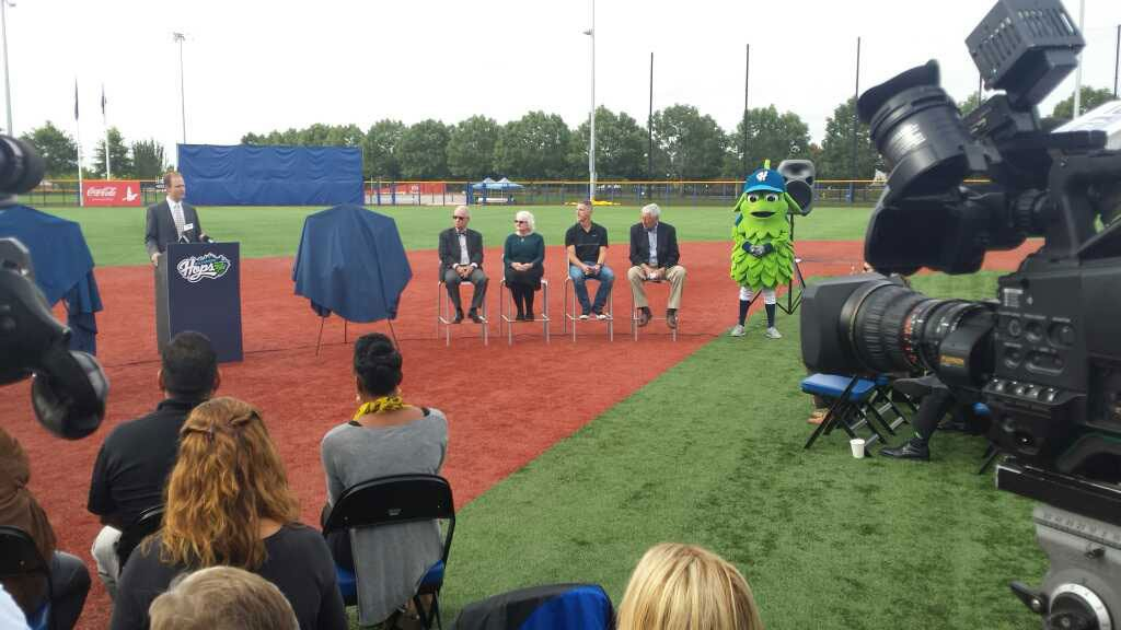 The Hillsboro Hops announced Wednesday that the team will host the 2017 Northwest League versus Pioneer League All-Star Game and events. (KPTV)