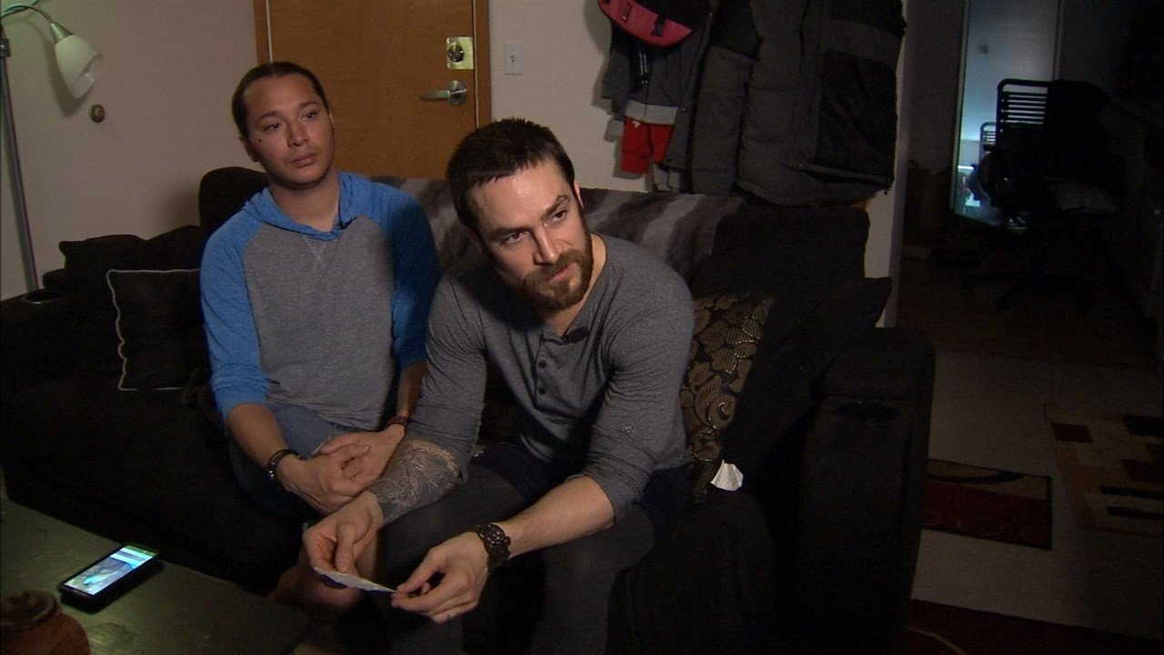 Michael Phillips (right) and his husband Derek Winton. (KPTV)