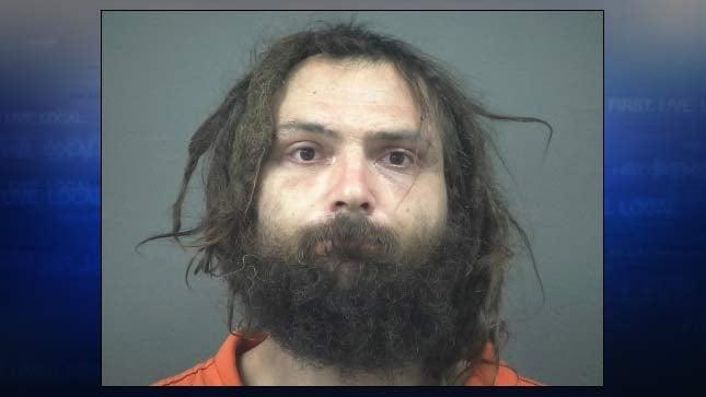 Edmund Day, jail booking photo