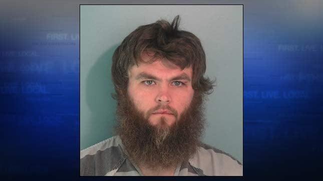 Christopher Gerberding, jail booking photo