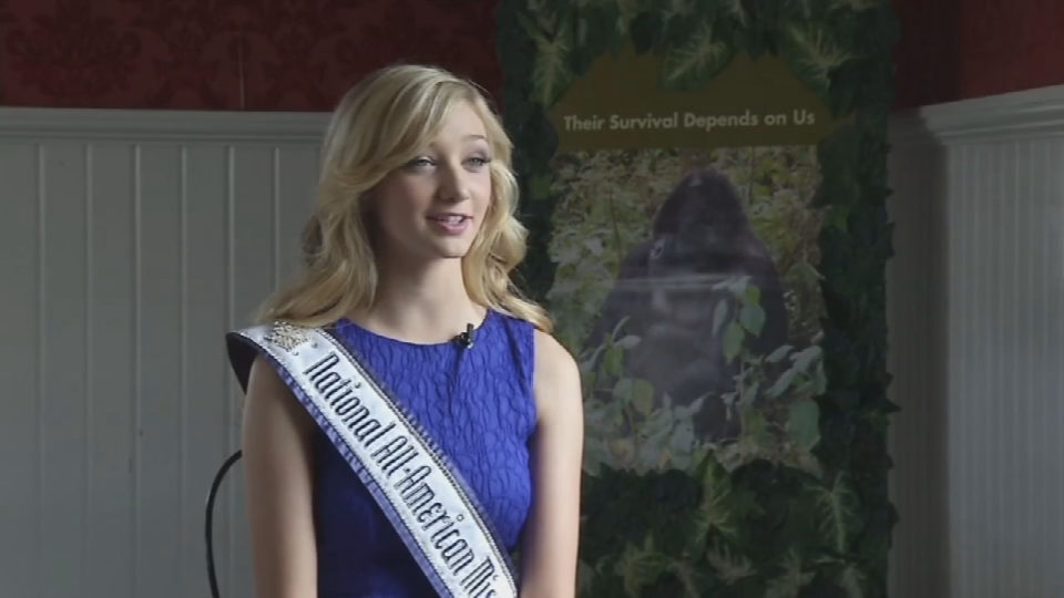 Madeline Monlux, a junior at Franklin High School in Portland, founded the 'Queen of the Jungle' pageant.
