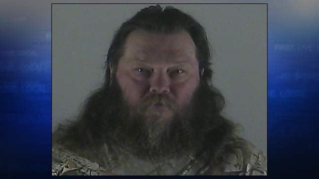 Michael Shawn Pekarek, jail booking photo