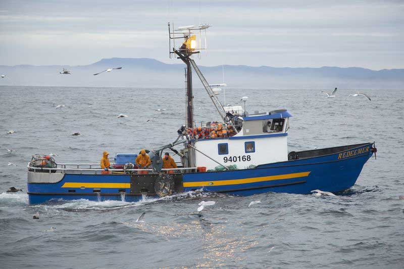 The Redeemer, one of several ships featured in the new series 'Deadliest Catch: Dungeon Cove' (Photo: Discovery Channel)