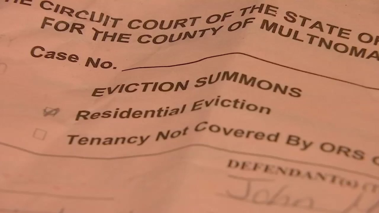 A Salem woman on a fixed income said may face eviction after informing her landlord that she would not be able to pay a prosed rent increase in October. (KPTV)