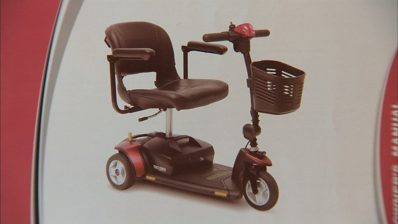Model of the scooter that was taken in north Portland (KPTV)