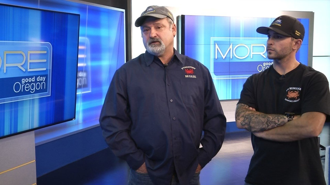 "Father and son Gary and Kenny Ripka are two of the captains featured in the upcoming Discovery Channel series ""Deadliest Catch: Dungeon Cove."" (KPTV)"