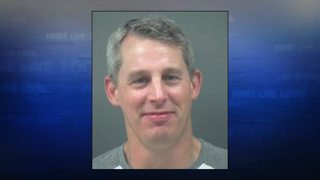 Jonathan Coulsey, jail booking photo