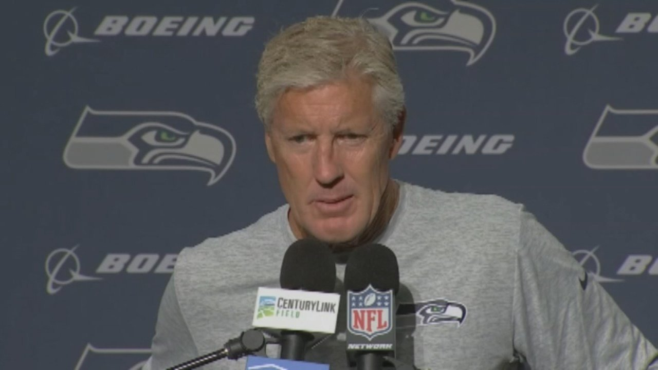 Seattle Seahawks coach Pete Carroll (KPTV file image)