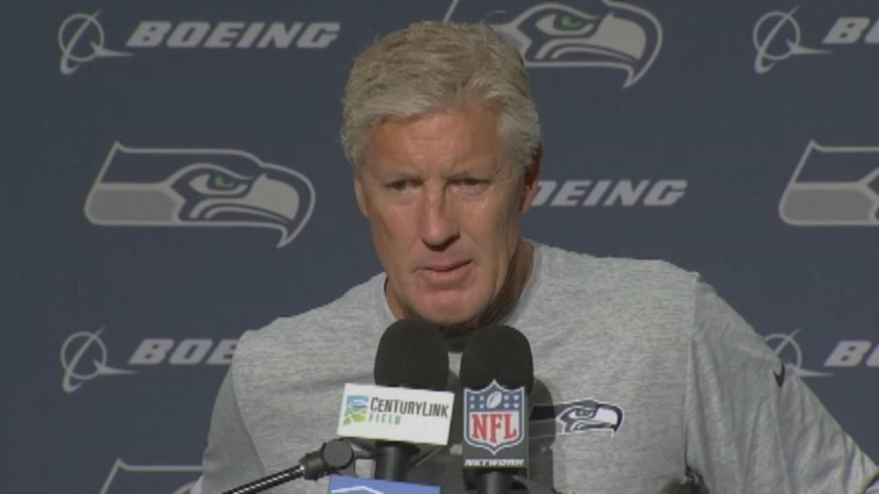 Seattle Seahawks coach Pete Carroll (KPTV file image)
