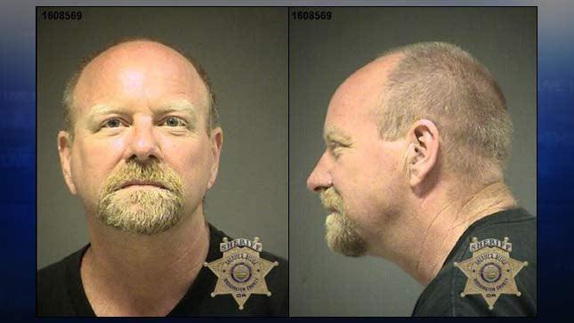Charles William Garner, jail booking photo