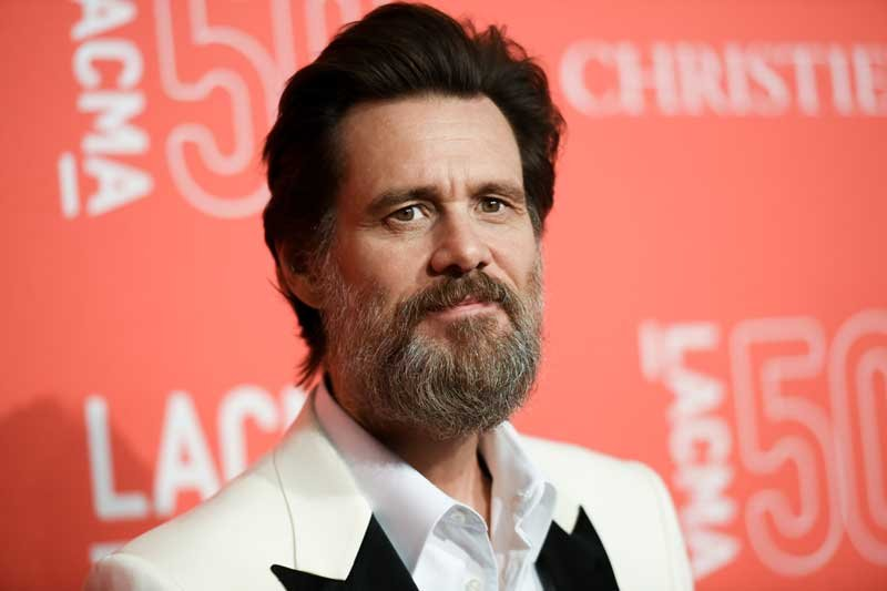 In this April 18, 2015 file photo, Jim Carrey arrives at LACMA's 50th Anniversary Gala in Los Angeles. (Photo by Richard Shotwell/Invision/AP, File)