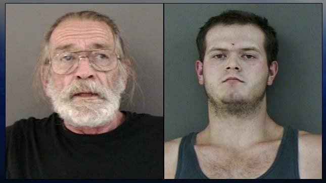 Michael Robert Smith, Kyle Robert Smith, jail booking photos