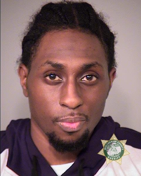 Isaiah Hakim Hassan booking photo (Multnomah Co. Jail)