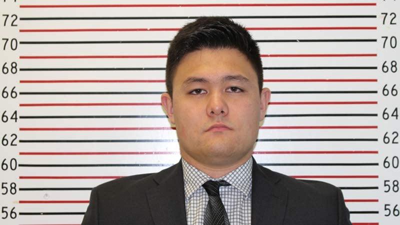 Cooper Kikuta, jail booking photo
