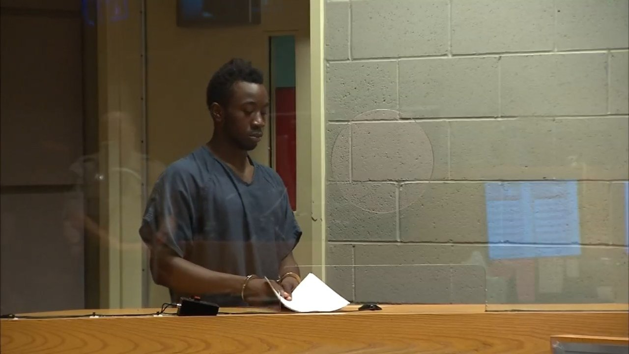 Jeremiah Greiser in court Tuesday (KPTV)