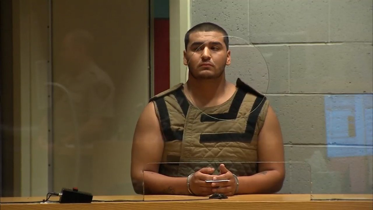 Isaiah Garcia during prior court appearance. (KPTV file image)