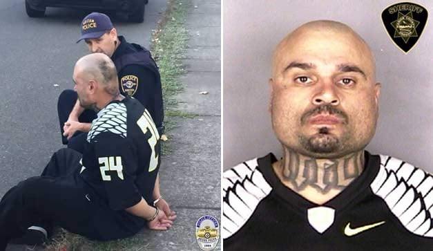 Suspect: Eric Avila (Courtesy: Keizer Police Department)