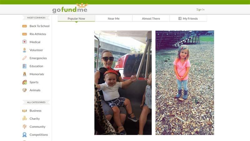 Bennett family. Images: GoFundMe