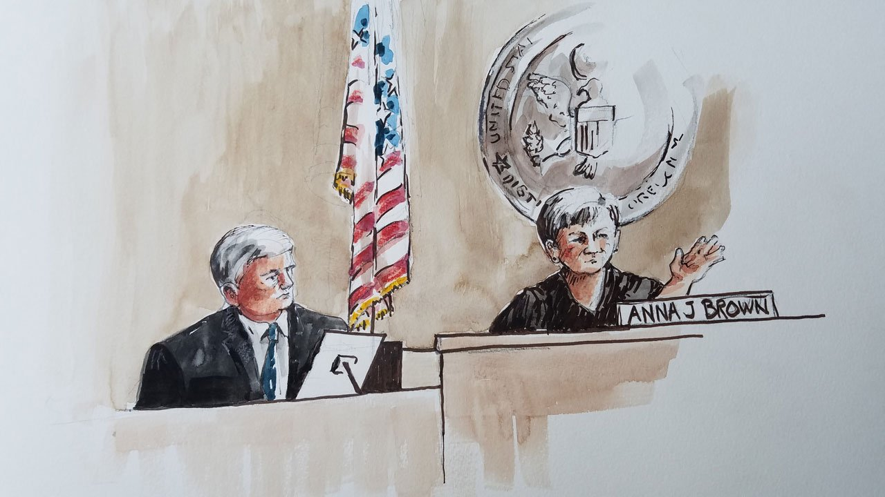 Reverend Franklin Graham took the stand in the Malheur National Wildlife Refuge standoff trial Thursday. (KPTV)