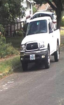 Truck sought by deputies in connection to homicide investigation of woman found in Yamhill County field. (Photo: Yamhill County Sheriff's Office)