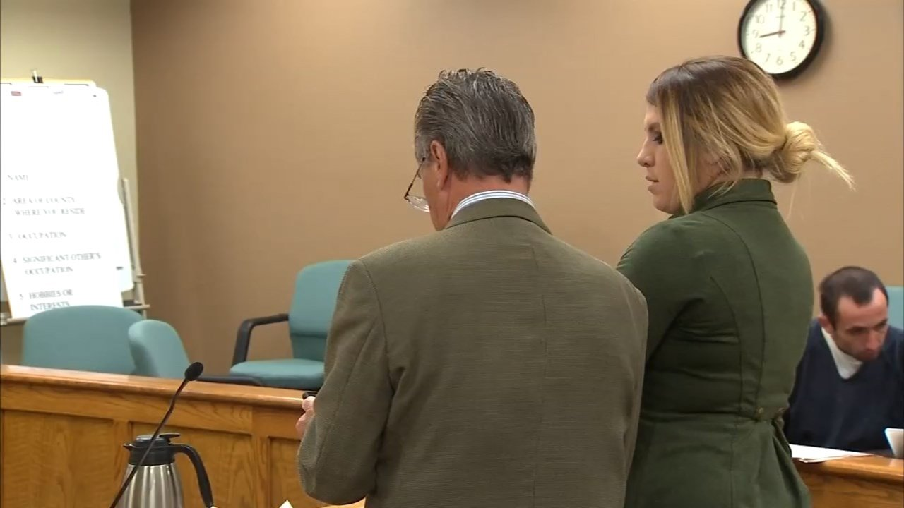 Terra Brandenburg pleaded guilty to multiple charges in court Tuesday. (KPTV)