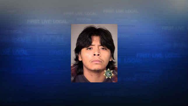 Yafeth Pozos, jail booking photo (Courtesy: Multnomah County Sheriff's Office)