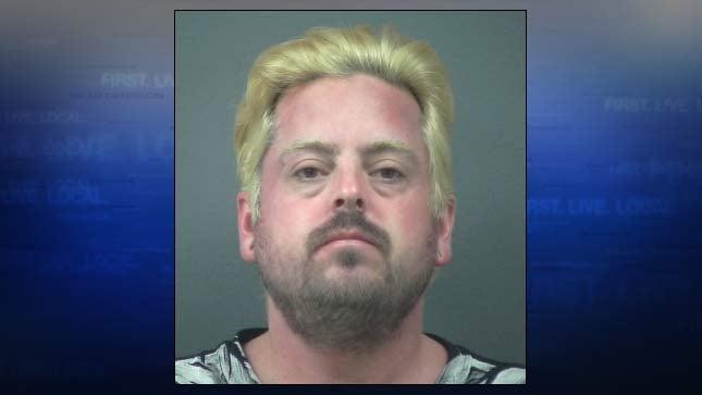 Michael Hanold, jail booking photo