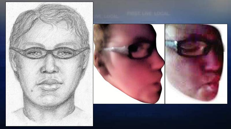 Sketch and images of John Doe 37 provided by the FBI. (KPTV)