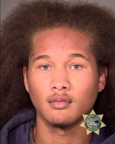 Deshaun Dominique Marcell booking photo (Multnomah County Jail)