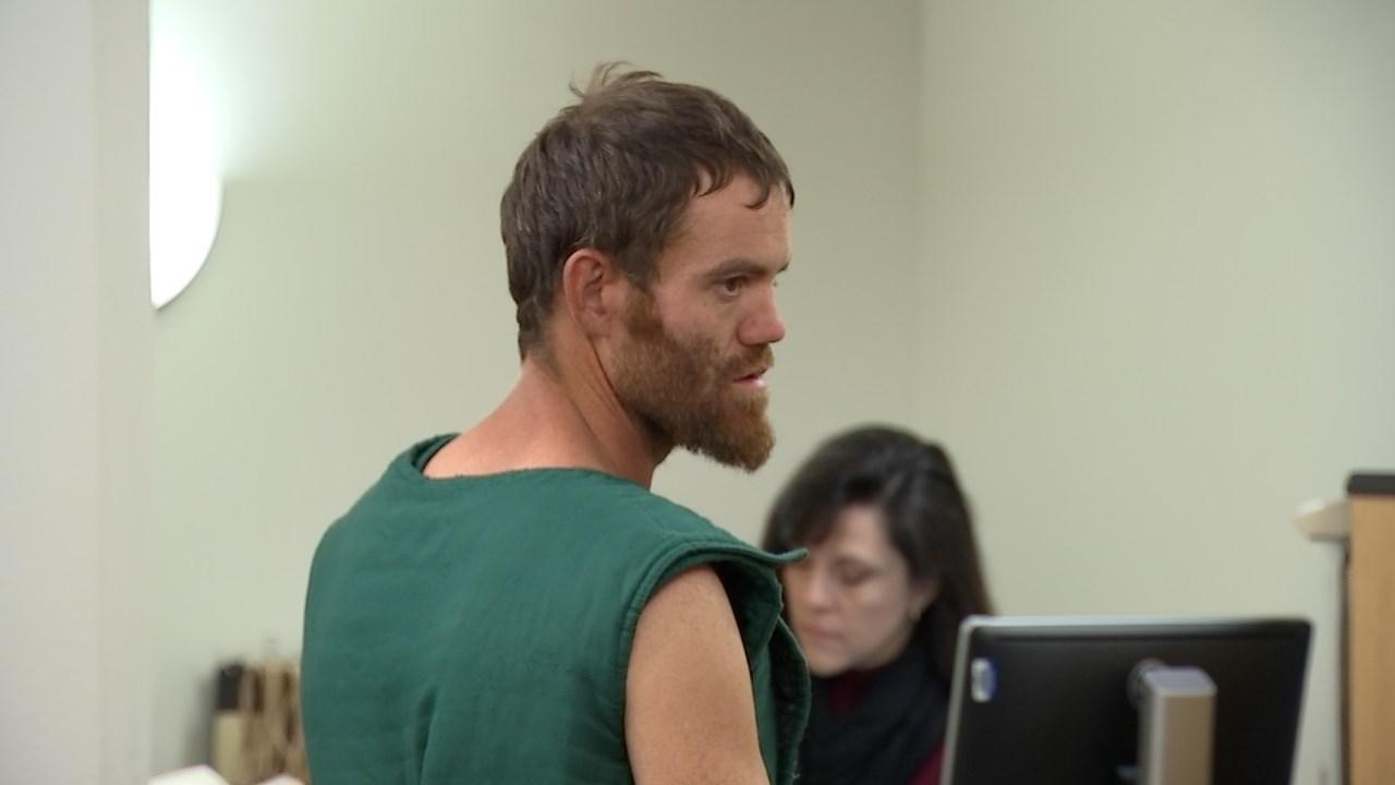 Shaun Sprague in court Thursday. (KPTV)