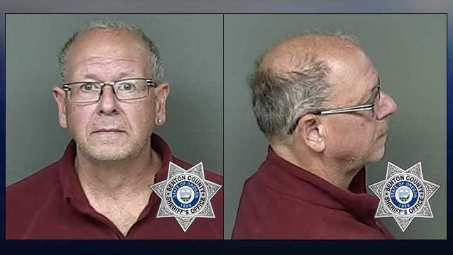 Donald Robert Grey, jail booking photo