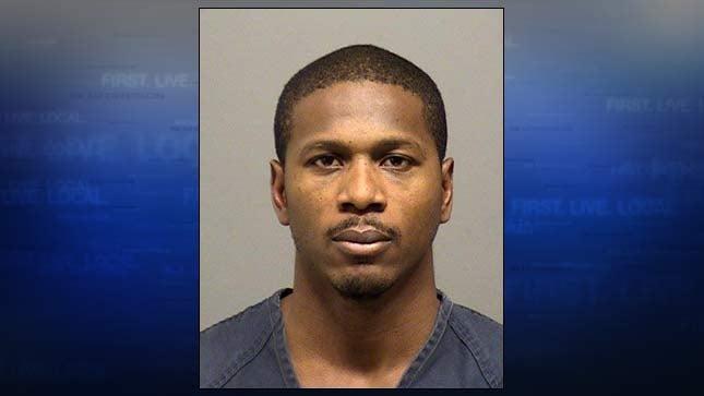 Ryan Aleweshez Mitchell, jail booking photo