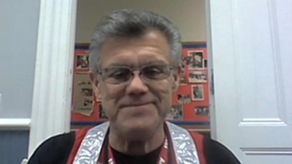 American Red Cross aide Patrick Hearn