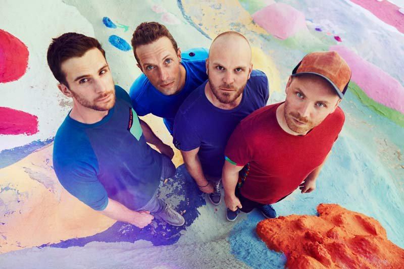 Coldplay photo: Atlantic Records/Julia Kennedy