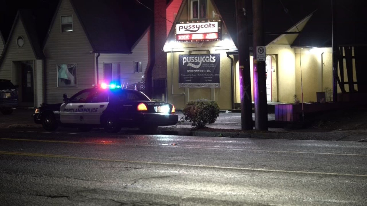 Pussycats in NE Portland was robbed by a man with a gun. (Photo:KPTV)