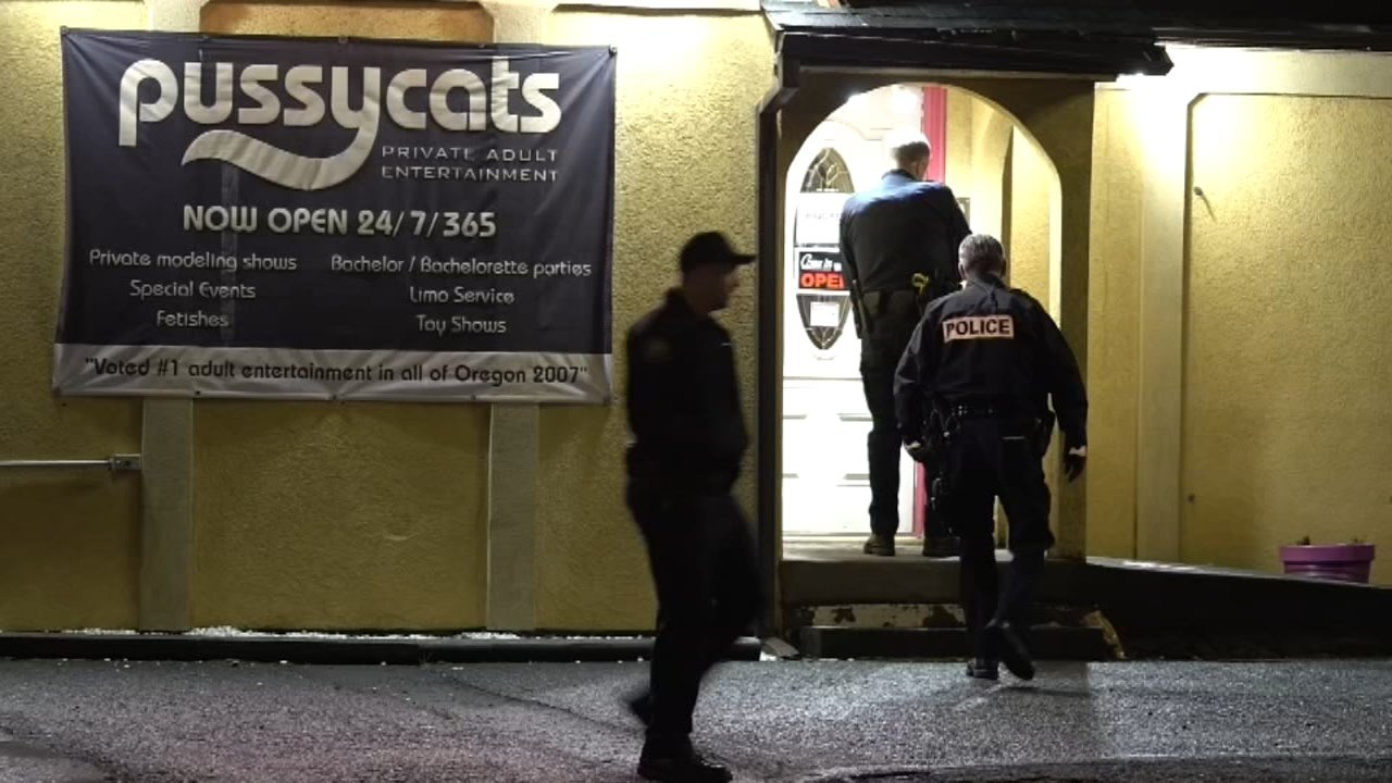 Officers said an employee at Pussycats in NE Portland was sexually assaulted during an armed robbery. (Photo: KPTV)