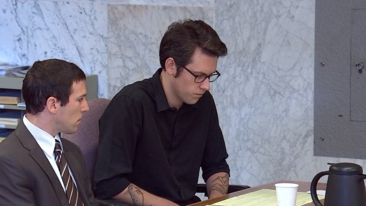 William Hurst in court Monday. (KPTV)