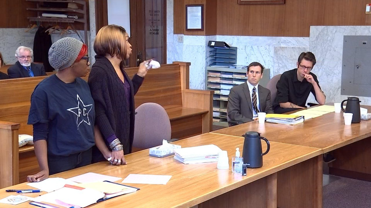 Family members of Patrick Curry addressed William Hurst in court Monday after he pleaded guilty to DUII and criminally negligent homicide. (KPTV)